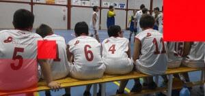 Baloncesto-banquillo