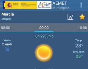 temperatura semana 29-5