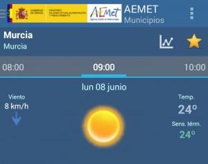 temperatura semana 8-14